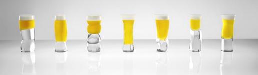 Suntory - personalised beer glasses
